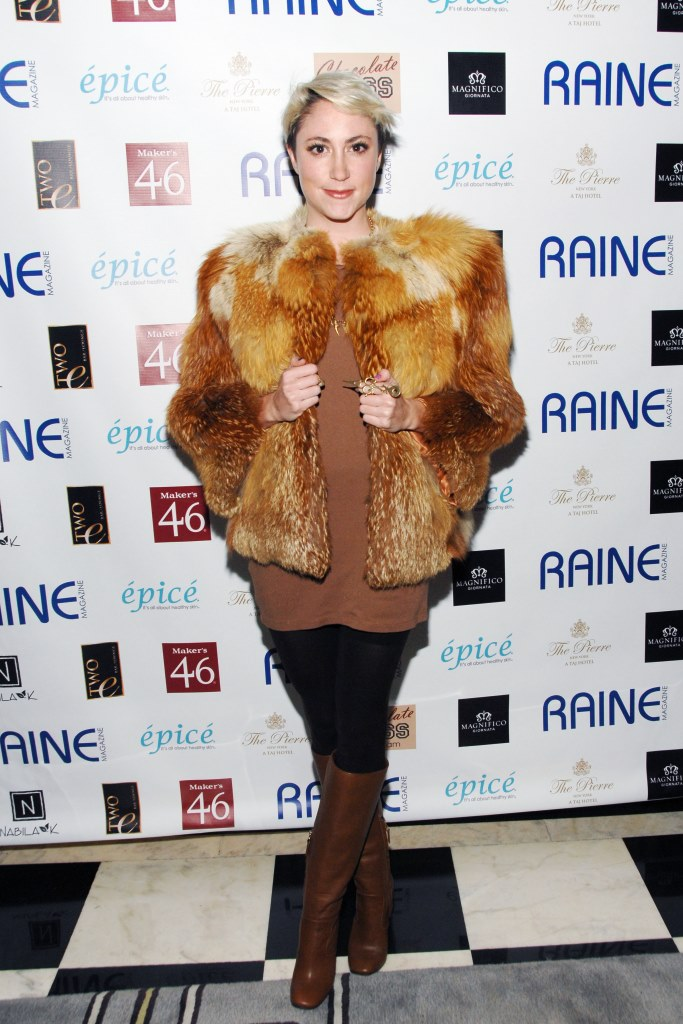 Heidi Gardner== RAINE Celebrates their International Issue Featuring Consuelo Vanderbilt Costin== Two E Bar and Lounge at the Pierre Hotel, 2nd E 61st, NYC== January 30, 2014== ©Patrick McMullan== Photo - Erik Puotinen/PatrickMcMullan.com== ==