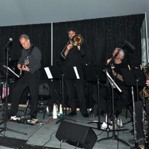 6. Brielle Band   Paul Pizzutte, drums, Larry Saltzman, guitar, Ryan Keberle, trombone, Jim Hynes, trumpet, Dan Willis, reeds (2)