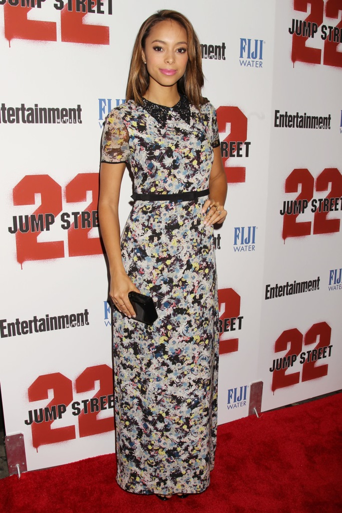 """- New York, NY - 6/4/14 - Fuji Water and Entertainment Weekly Present the New York Screening of """"22 Jump Street""""  . The Film Stars Jonah Hill and Channing Tatum.-PICTURED: Amber Stevens-PHOTO by: Dave Allocca/Starpix-File name: DA_14_923048.JPG-Location: AMC Lincoln SquareFor licensing please call 212-414-9464 or email sales@startraksphoto.com"""