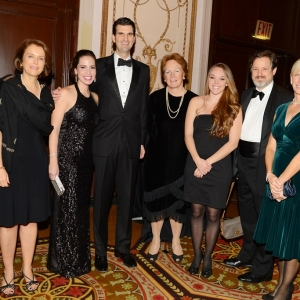 Laura Park, Arielle DiCiollo, Edward Skyler, Joan Haffenreffer, Christine Dunleavy, Richard Greene, Becca Pratt== 28th Annual Gala of New York Police & Fire Widows' & Children's Benefit Fund== Waldorf Astoria, NYC== October 24, 2013== ©Patrick McMullan== photo - Patrick McMullan/PatrickMcMullan.com== ==