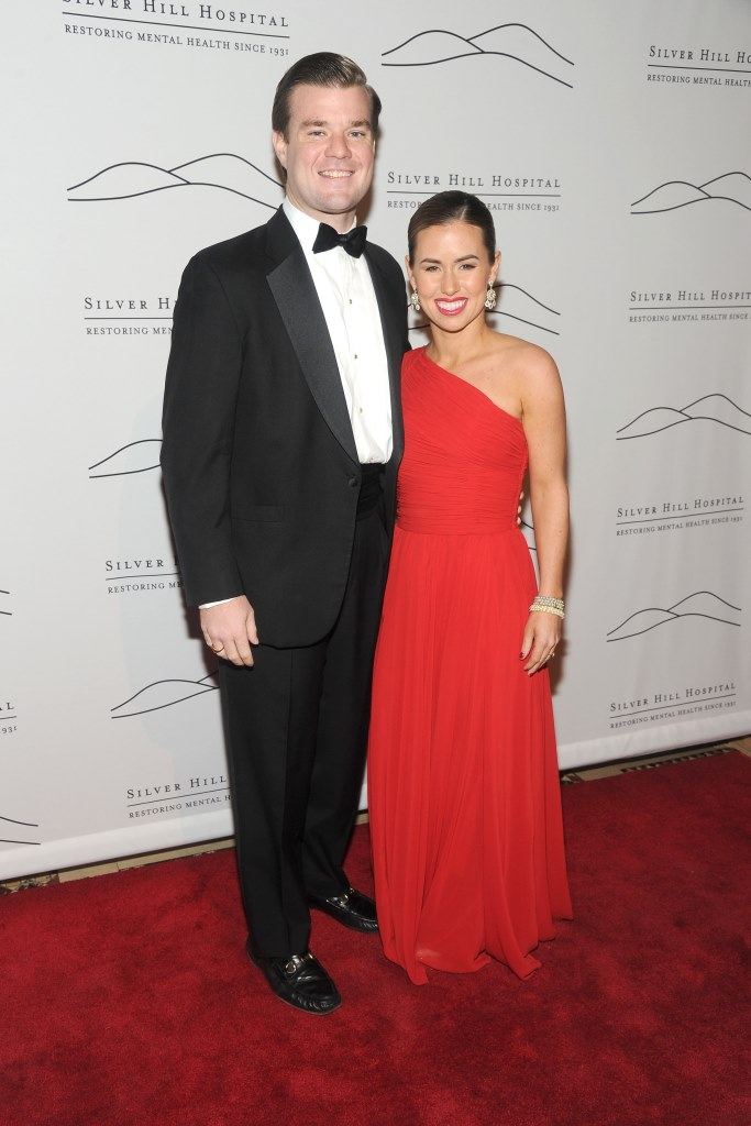 Hugh Carey, Kate Gibson== Silver Hill Hospital 2013 Gala: Arrivals== Cipriani 42nd Street, NYC== November 20, 2013== ©Patrick McMullan== Photo - Owen Hoffmann/ PatrickMcMullan.com== ==