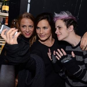 Charlotte Ronson, Mariska Hargitay, Samantha Ronson at Manhattan Magazine Charlotte Ronson After Party 2.7.14 - photo by Andrew Werner, AHW_1297