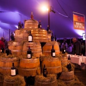 Dans Harvest Wine Wall Auction