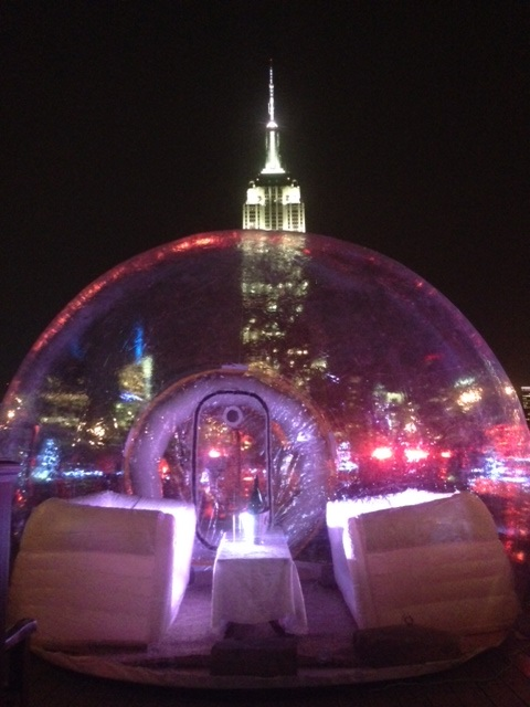 FIFTHgloo with Empire State Building
