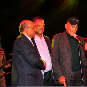 Mo Ibrahim,  Rev. Jesse Jackson and Harry Belafonte