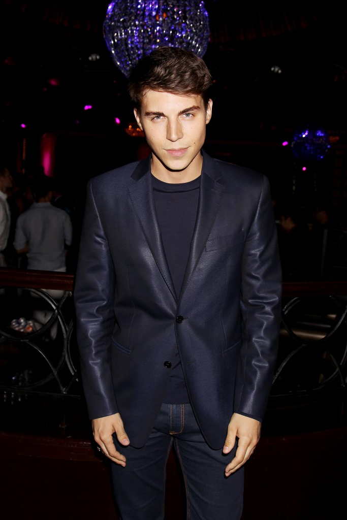 """- New York, NY - 6/4/14 - Fuji Water and Entertainment Weekly Present the New York Screening of """"22 Jump Street"""" After Party  . The Film Stars Jonah Hill and Channing Tatum.-PICTURED: Nolan Funk-PHOTO by: Dave Allocca/Starpix-File name: DA_14_923080.JPG-Location: LavoFor licensing please call 212-414-9464 or email sales@startraksphoto.com"""