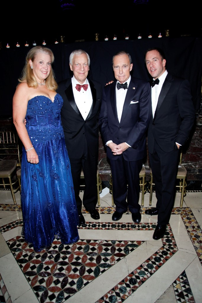 Beverly Orthwein, Sigurd Ackerman, Lawrence Kudlow, Michael Cominotto==Silver Hill Hospital Gala 2013==Cipriani 42nd, NYC==November 20, 2013==©Patrick McMullan==Photo- ADRIEL REBOH / PatrickMcMullan.com====