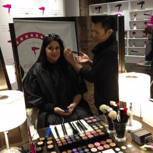 Panasonic Beauty Bar NYFW 9