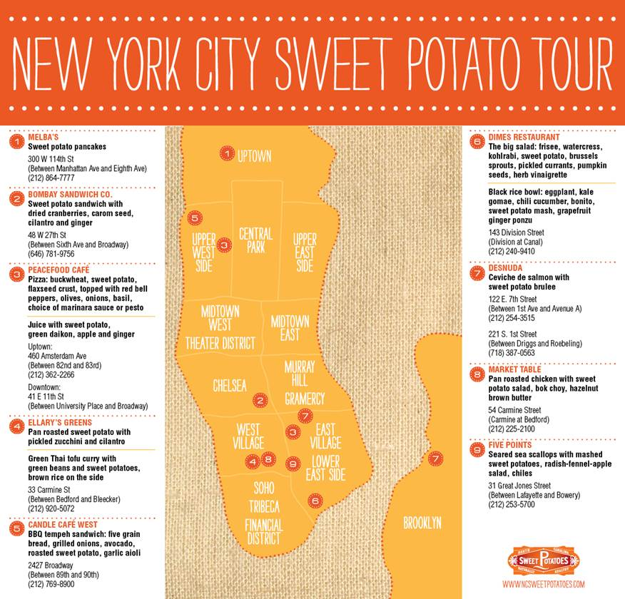 Sweet Potato Tour