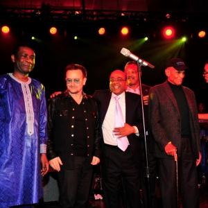 Youssou Ndour, Bono, Mo Ibrahim, Rev. Jesse Jackson, Harry Belafonte, Hadeel Ibrahim