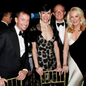 Alex Hitz, Amy Fine Colins, Mark Gilbertson, Nina Griscom==Silver Hill Hospital Gala 2013==Cipriani 42nd, NYC==November 20, 2013==©Patrick McMullan==Photo- ADRIEL REBOH / PatrickMcMullan.com====